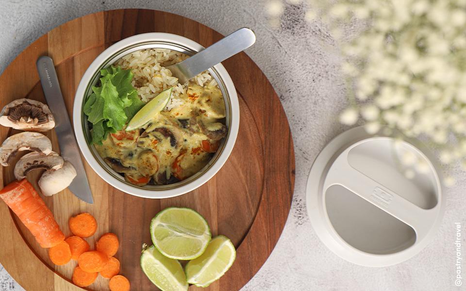 Le curry de légumes