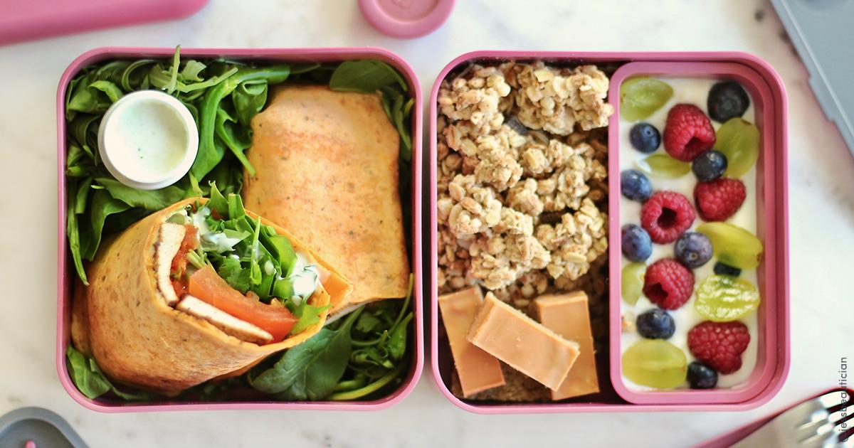 Une semaine de Meal Prep par Jess Beautician
