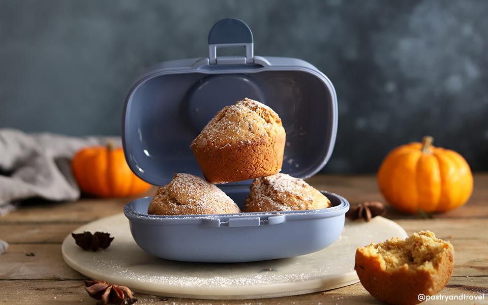 Muffins à la citrouille et aux épices Chaï