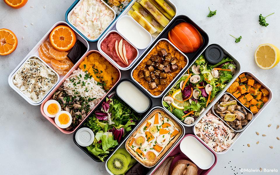 Une semaine de batch cooking avec Make Me Healthy