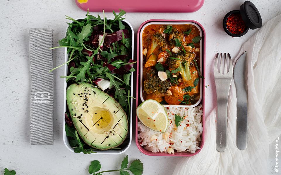 Curry massaman végétarien