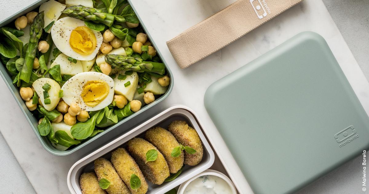 Salade aux œufs et pommes de terre