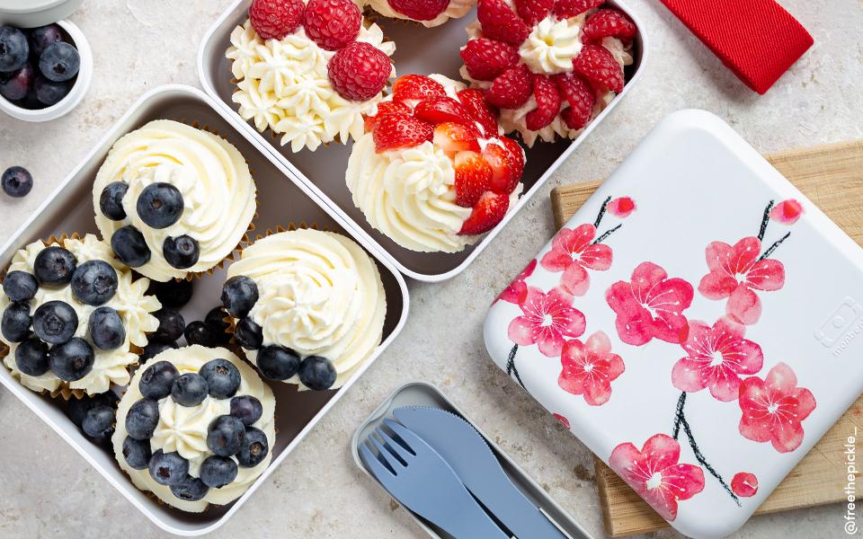 Cupcakes vegan à la vanille