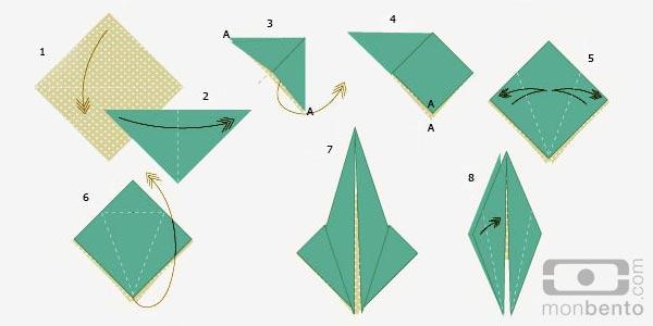 origami dove printable instructions | Origami bird easy, Origami ... | 300x600