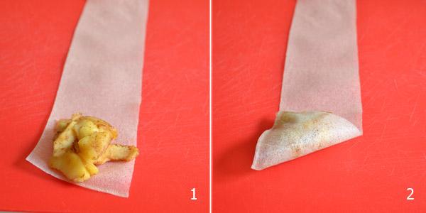 mon bento samoussas tutoriel feuilles de brick