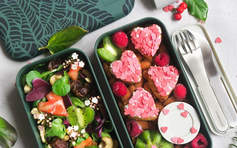 Mini cupcakes cœurs de la Saint-Valentin