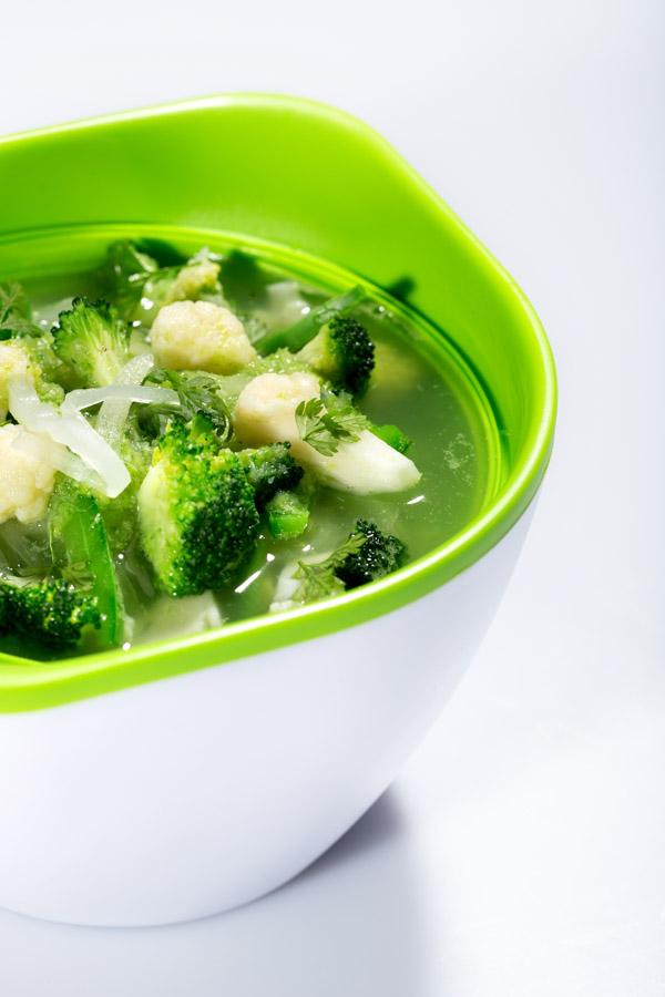 Soupe détox diététique et goûteuse