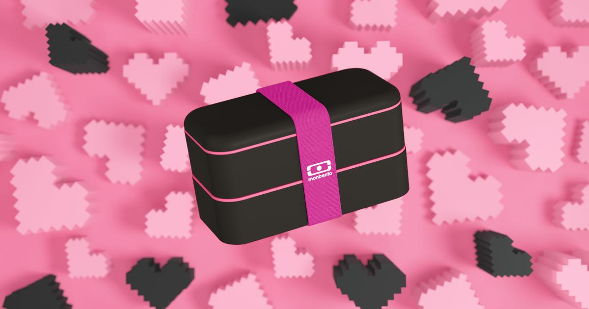 valentine's day bento limited edition mb original lovely black