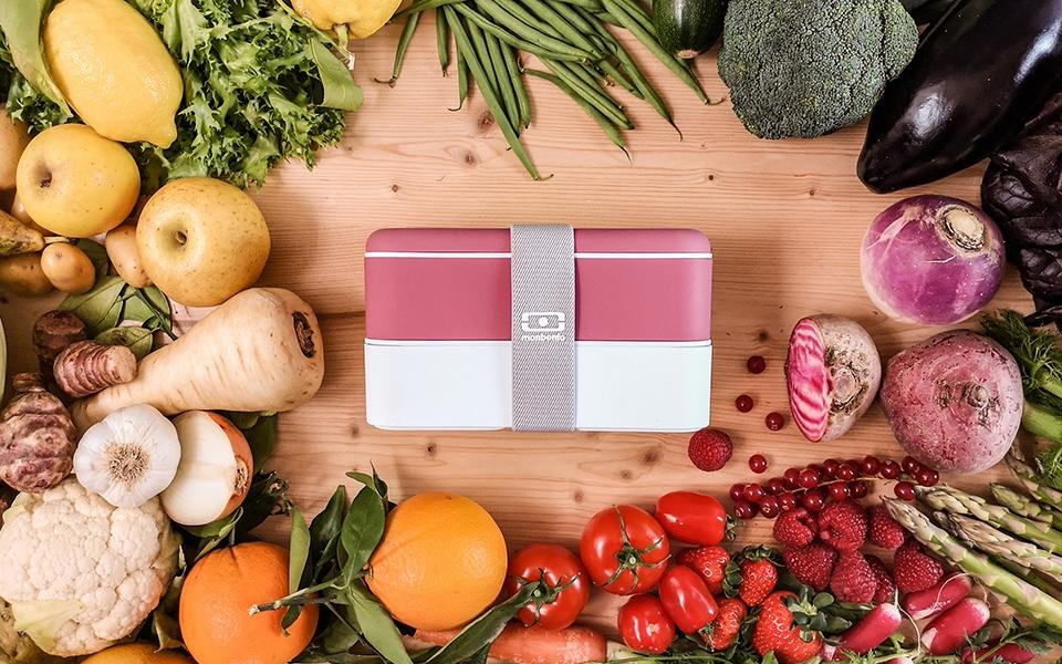 fruits et légumes de saison monbento bento box veggies fruits